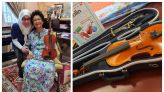 After her surprise performance for Dr Siti Hasmah, Tunku Azizah to take up violin lessons from YouTube (VIDEO)
