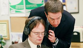The Office Stars Ed Helms and Rainn Wilson Reunite To Sing Take Me Home