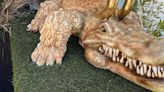 Giant Alligator Loki Made Out Of Bread By Bakery
