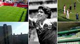 Así se volvió a gritar a las 16:09 el Gol del Siglo de Maradona a Inglaterra: en los estadios, los barrios y hasta en Segurola y Habana