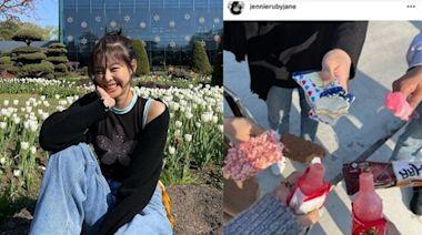 Jennie開心遊植物園 遭質疑違反防疫規定 | 蘋果日報