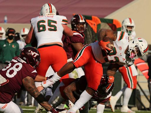 Miami still No. 10 in College Football Playoff rankings, maintains New Year's Six path