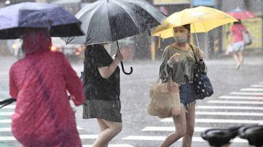 全台都有雨!中南部10縣市豪大雨、北部強降雨