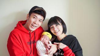 恭喜!草莓姐姐生完5個月 香蕉哥哥報喜「第2胎」
