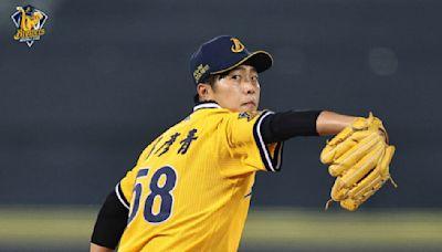 【影】中職》呂彥青6.2局好投中職生涯勝投開張 助兄弟下半季首度除「獅」