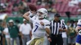 Disappointed but encouraged, Navy football prepares for Tulsa on another short week