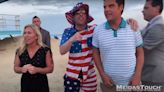 """Watch the look on Matt Gaetz's face when a """"fan"""" pranks the hell out of him 
