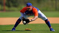 J.D. Davis on improving his defensive approach at 3rd base and today's 'mental lapse'