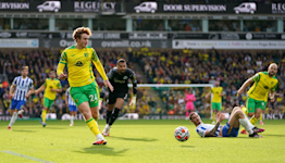 Norwich rue missed chances against Brighton as wait for first win goes on