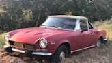 Would You Dig Up $2,000 To Un-Mire This '1978' Fiat 124 Spider?