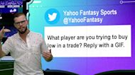 What player are you trying to buy low in a trade? | FFSK