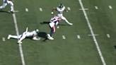 New England Patriots RB Damien Harris scores wild TD vs. New York Jets