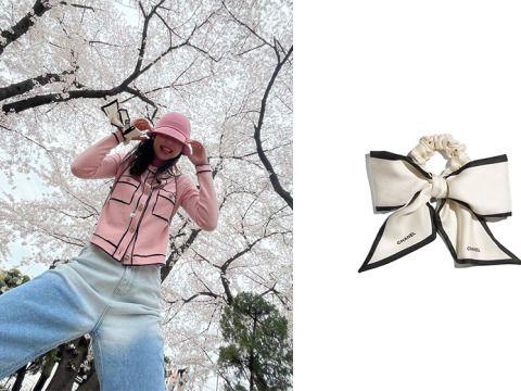 時髦女生關注:Jennie 與 GD 都悄悄搭配,藏在 Chanel 配件區還有這款優雅髮飾!