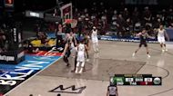 Pat Connaughton with an and one vs the Brooklyn Nets