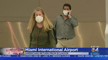 Americans Stranded In Ecuador Flown To Miami