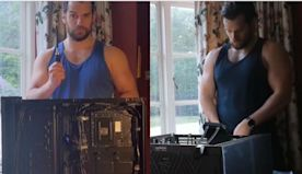 Sex Is Cool, But Have You Ever Seen Henry Cavill Build A Computer?