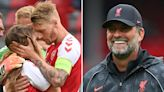 Liverpool boss Klopp writes tear-jerking tribute to AC Milan 'hero' Simon Kjaer