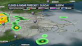 Clouds Increase This Afternoon, Cold Front Brings Rain