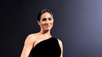 Meghan Markle Made a Surprise Appearance at the British Fashion Awards