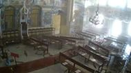 Oil Lamp on Church Altar Stays Lit Through Beirut Blast