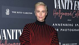 Vanity Fair Kicks Off Oscars Week With Charlize Theron, Demi Moore for Exhibit Opening - Oscars Party Diary: Inside the A-List...
