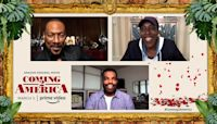 The Rush: Coming 2 America cast on Prince's hoops skills, the Knicks, boxing and more