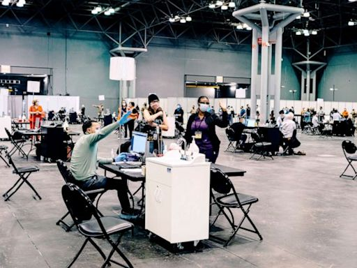 New York City's Javits Center offering COVID-19 vaccinations 24/7