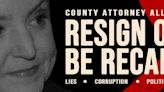 Allister Adel faces billboard campaign urging her to resign as Maricopa County attorney