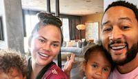 John Legend Jokes He and Pregnant Chrissy Teigen Wanted Baby No. 3 for This Surprising Reason - E! Online