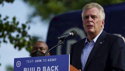McAuliffe urges Democrats in Congress to progress on the Biden agenda