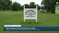 Advocates working to restore historic island near Petersburg