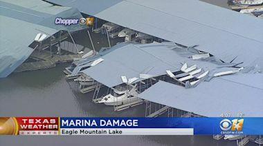 Eagle Mountain Marina Damaged By Sunday Storms