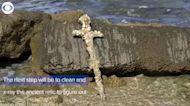 WEB EXTRA: Crusader Sword Found Off Coast of Israel
