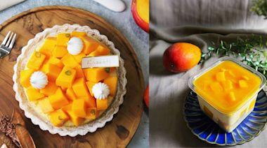 【2021芒果季】仲夏芒果甜點推薦!入口即化的芒果蛋糕、雙倍份量芒果塔、芒果卡士達泡芙...