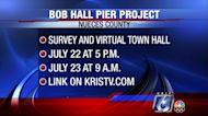 Online survey, meetings set for future Bob Hall Pier