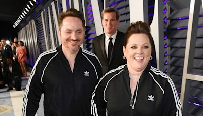 Melissa McCarthy and Husband Ben Falcone Take 'Virtual Painting' Class with Bob Ross' Son
