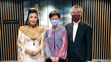 林鄭如約捧場 稱佩服Liza姐不斷創新 - 香港經濟日報 - TOPick - 新聞 - 政治