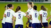 US Soccer star Carli Lloyd receiving backlash for standing during national anthem