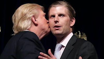 Trump says his son Eric 'gets treated terribly' and 'would like to have a normal life': book