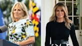 Jill Biden Shows Support For Melania Trump After Posting A Photo Of Her Rose Garden – See Pic