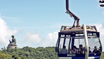 昂坪360下月有3天例行維修 纜車屆時暫停開放