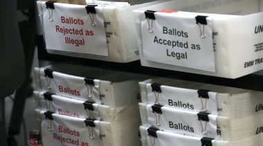 In two political battlegrounds, thousands of mail-in ballots are on the verge of being rejected