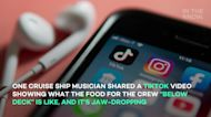 What 'below deck' food is like on a cruise ship