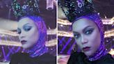 DWTS Tyra defies fans who hate her wild style by posing in evil queen gown