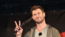 Chris Hemsworth Shares a Killer At-Home Workout Using Stuff You Have in Your Laundry Room