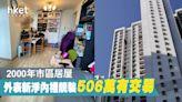 【直擊單位】白居二睇中樓齡21年市區居屋 506萬買506呎單位 - 香港經濟日報 - 地產站 - 二手住宅 - 資助房屋成交