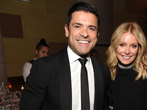 Mark Consuelos Leaves a Very NSFW Comment on Wife Kelly Ripa's Post