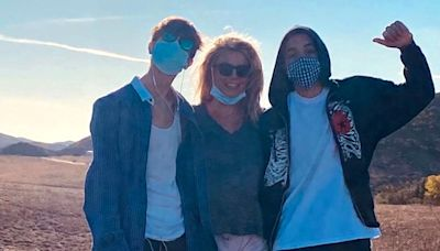 Britney Spears posts update about 'very private' sons in honor of their birthdays