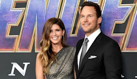 Katherine Schwarzenegger and Chris Pratt Have First Married Thanksgiving