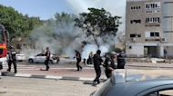 Emergency Crews Respond Amid Barrage of Missiles in Ashkelon